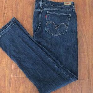 Ladies Levi's  524 too super low jeans